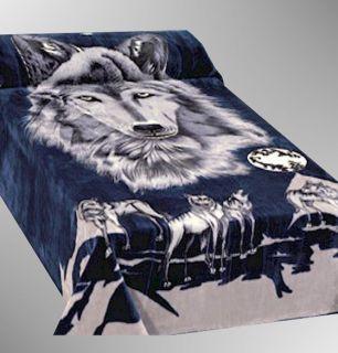 Super Soft Purple Fleece Mink Plush Blanket Full Queen