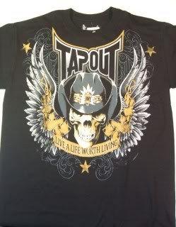 Donald Cerrone Cowboy Tapout Authentic T Shirt New