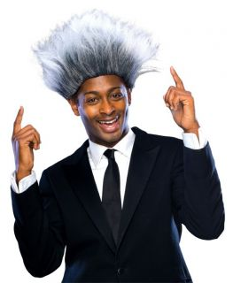 Boxing Promoter Costume Wig Don King Halloween Costume Accessory NWT