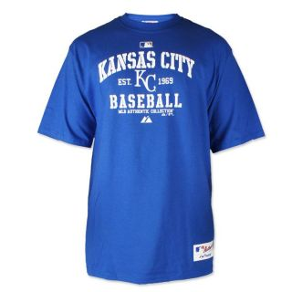 Kansas City Royals Authentic Collection Classic Blue T Shirt Mens Sz