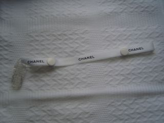 Chanel ★ Dummy Pacifier Satin Strap Soother Clip Reborn Baby Doll