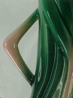 Vintage Will George Pink Flamingo Figurine Twisted Neck Ceramic Calif