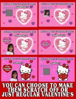 Hello Kitty Valentines Day Cards Discounts Avaliable Custom