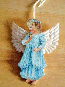 Dona Gelsinger Christmas Heavens Little Angels Ornaments Garden Beauty