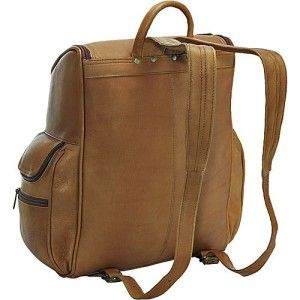le donne leather premium leather laptop backpack