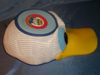 Disney Donald Duck Cap Hat Squeeky Bill Vintage RARE Child Great