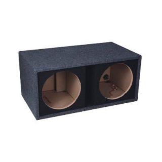Dual 10 Subwoofer Speaker Enclosure Box by Fierce Audio FPSP210 1