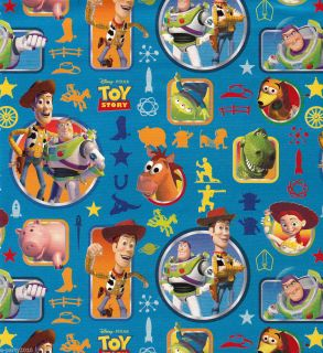 DISNEY TOY STORY GIFT WRAP WRAPPING PAPER Birthday PARTY Supplies