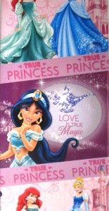 NEW* DISNEY PRINCESS party gift wrap wrapping paper 16 sheets