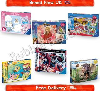 Cartoon Characters 3 Jigsaw Puzzle Games 49 PC Gift BN