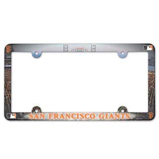 san francisco giants plastic license plate frame