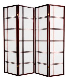 Room Dividers Geometric Style 2 Colors 3 or 4 Panels