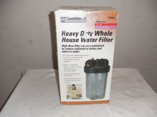 Kenmore Heavy Duty Whole House Water Filter 38448 New