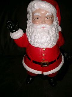 Here Comes Santa Claus 1973 Duncan Ceramic Santa