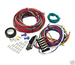 DUNE BUGGY wiring harness, SANDRAIL wiring loom kit car universal