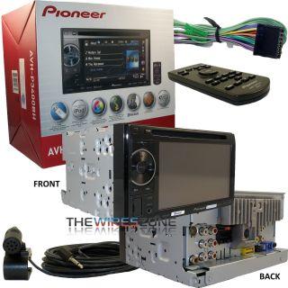 PIONEER AVH P3400BH DVD CD  IPOD USB BLUETOOTH HD RADIO 2 DIN CAR