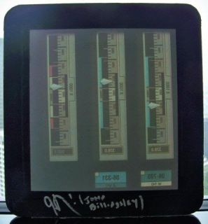 Star Trek Enterprise Phlox Set Piece Medical Bay Lcars Panel Prop RARE