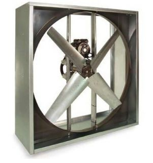 "Exhaust Fan Industrial Belt Driven 36"" 115V"