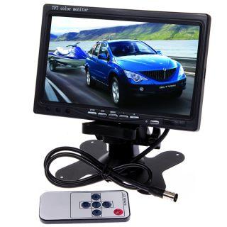 LCD Car Rear View DVD VCR Monitor License Plate Car Rear View