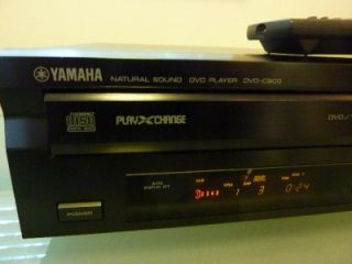 yamaha dvd c900 multi disc player 5 dvd changer w remote made in japan
