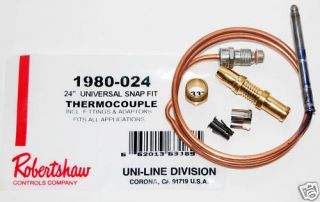 Duo Therm RV Furnace Thermocouple Kit Part 1310531 001