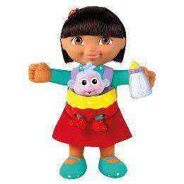 Fisher Price Babysitter Dora Explorer Doll Baby Boots