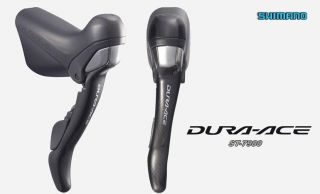 New Shimano Dura Ace St 7900 Carbon STI Road Bike Shifter Set w Cables