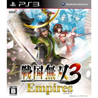 PlayStation3 Samurai Warriors 3 Empires Sengoku Musou Tecmo Koei Games