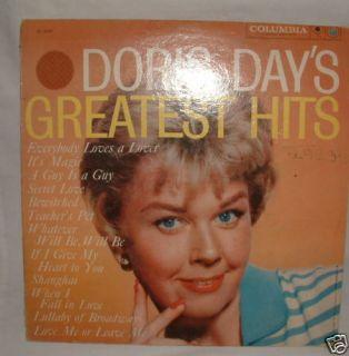 Doris Day Greatest Hits LP Vinyl Record Columbia