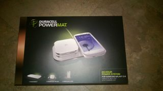 Duracell Powermat 24 hour Power System White Samsung Galaxy S3 NEW in