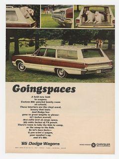 1965 dodge custom 880 station wagon ad