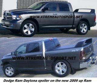Dodge Ram Daytona Spoiler Truck Wing Fits 2002 2012 Primer Gray