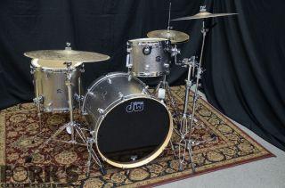New DW Performance Series Drum Set Titanium Sparkle