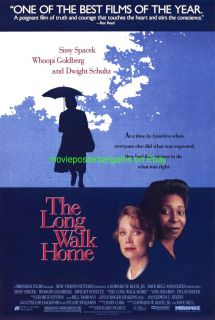 The Long Walk Home Movie Poster 1991 Whoopi Goldberg
