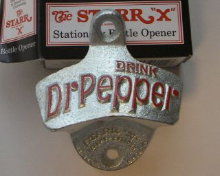 Dr Pepper Cast Iron Wall Mount Bottle Opener New