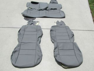 Dodge Caliber SXT RT Leather Seat Covers Seats 2007 2008