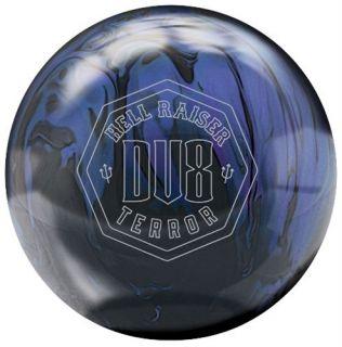 DV8 Hell Raiser Terror Bowling Ball 15 lb 1st Qual $269 New in Box