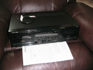 Pioneer Dual Cassette Deck CT W530R