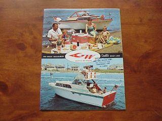 Vintage Grady White Boat Brochure
