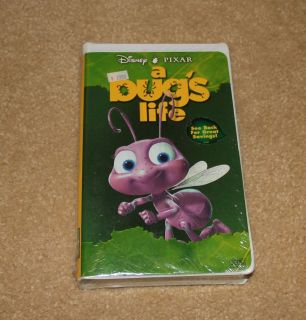 NEW SEALED VHS Walt Disneys Pixar A Bugs Life