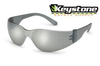 10 Pair Gateway Starlite Safety Glasses Silver Mirror