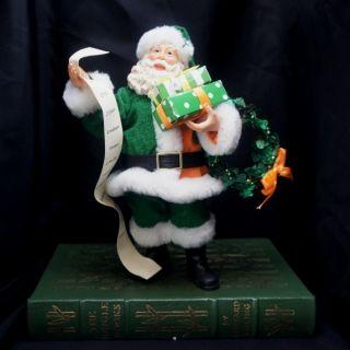 4026991 Department 56 Possible Dreams Peace and Plenty Irish Santa