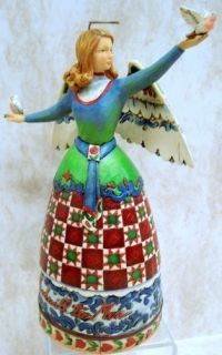 Goodwill to All ANGEL4007933 Sale Dove Heartwood Creek Folk Art
