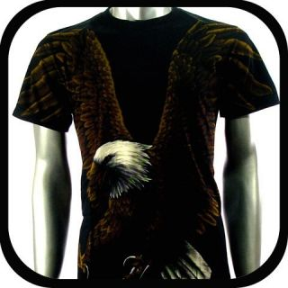 Rock Eagle T Shirt Limited Edition Biker E48 Sz XXL 2XL Tattoo Indie