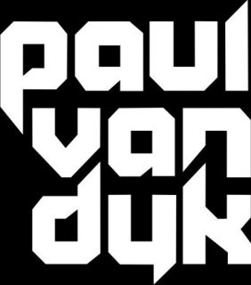 Paul Van Dyk Logo Label Car Window Truck Laptop Sticker Decal 4 x 4 5