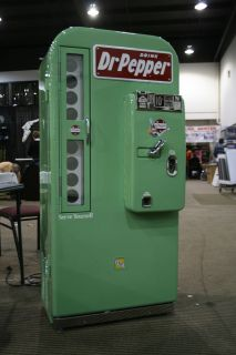 Dr Pepper VMC 81 Restored Soda Machine Coke Pepsi