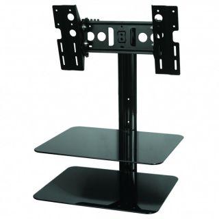 Premium Tilt Swivel Wall Mount for LED LCD Plasma HDTV w AV Component