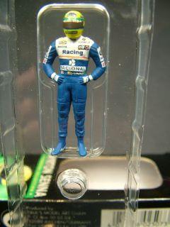 Minichamps 1 43 Ayrton Senna Driver Figure