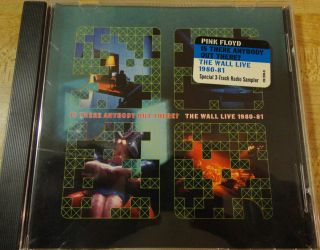 Pink Floyd Promotional Only CD