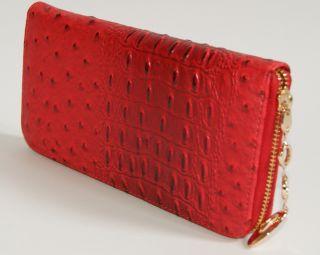 Womens Wallet Purse Pockets Credit Card Coin Bills Zip Around Bifold